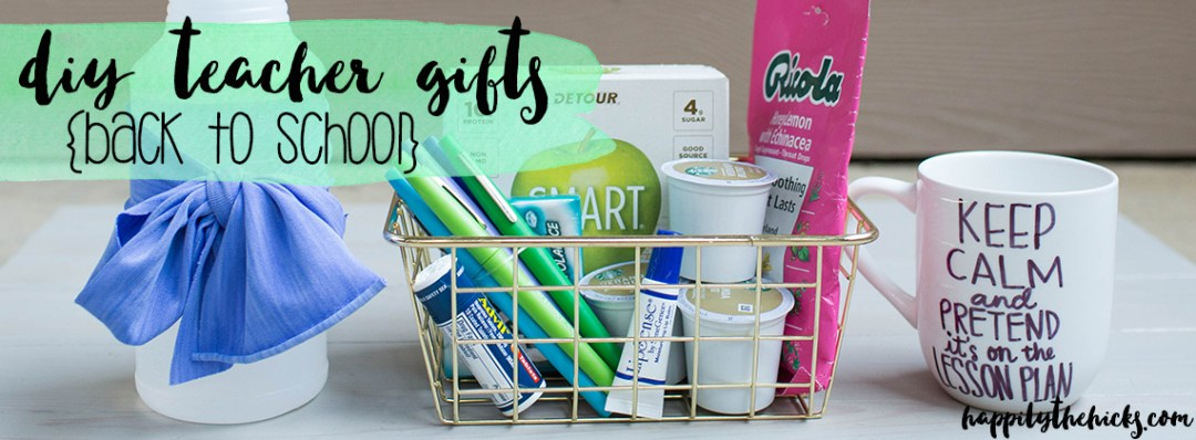 DIY Teacher gifts for back to school! | read more at happilythehicks.com