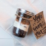 Latte in a Jar | Gift Idea!