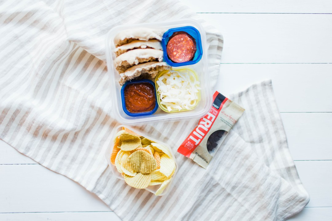 Grownup Build-Your-Own-Pizza Lunchable