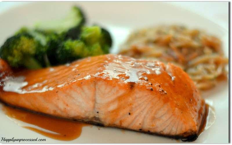 brown sugar glaze for salmon