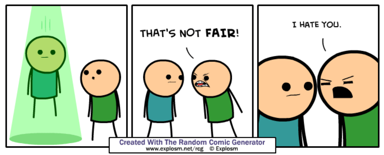 random comic generator cyanide