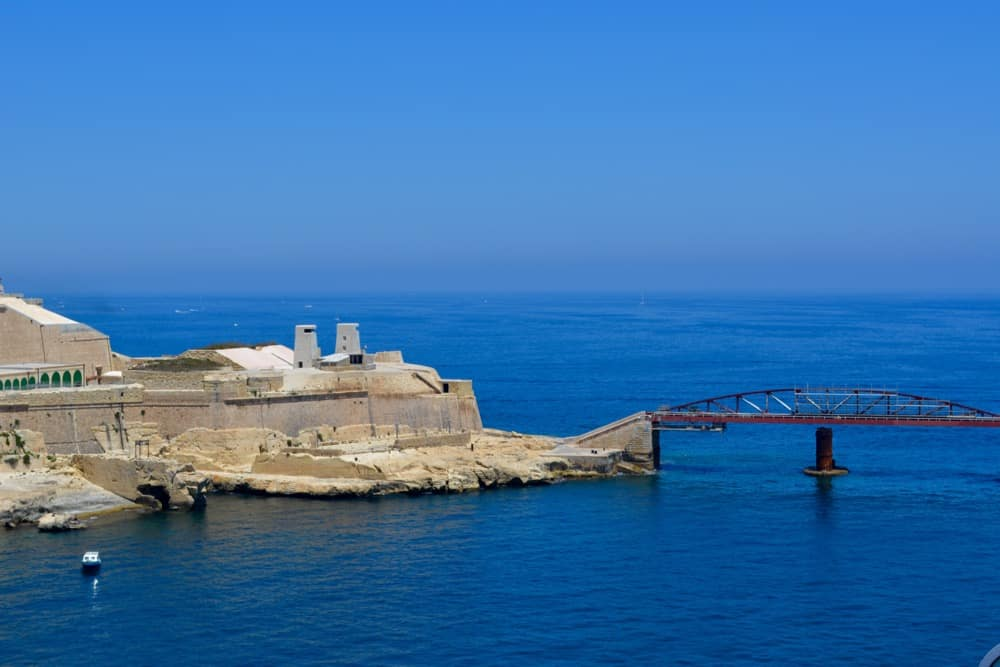 St Elmo and Breakwater Bridge is a well-known Valletta Attraction