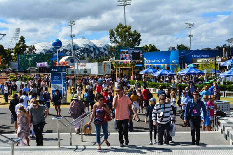Australian Open grounds
