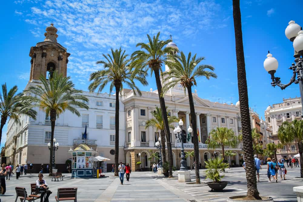 A square in Cadíz