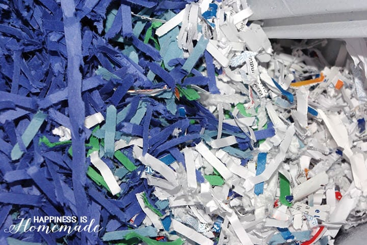 Recycled Shredded Paper