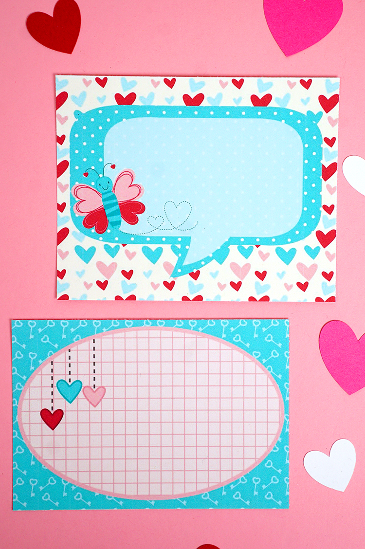lunch box love notes printable