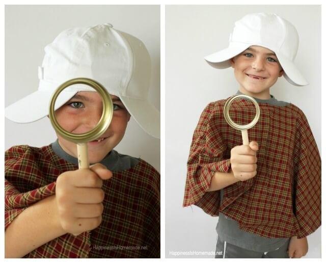 Quick Easy Detective Costume Set