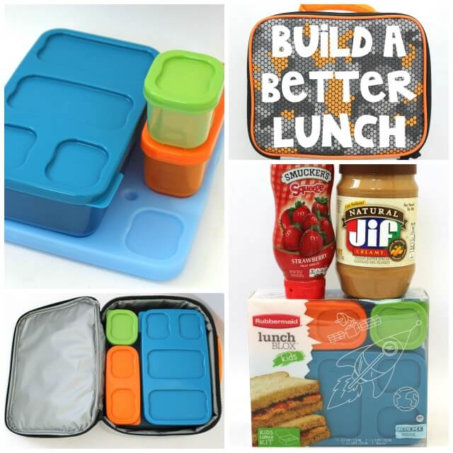 Rubbermaid LunchBlox Kids Kit for Better Lunches