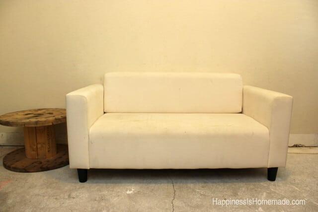 Ikea Sofa Before Painting