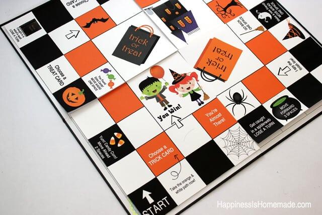 Making a Homemade Halloween Board Game