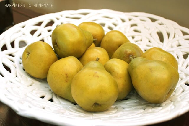 Bowl of Pears at the 2014 HGTV Dream Home
