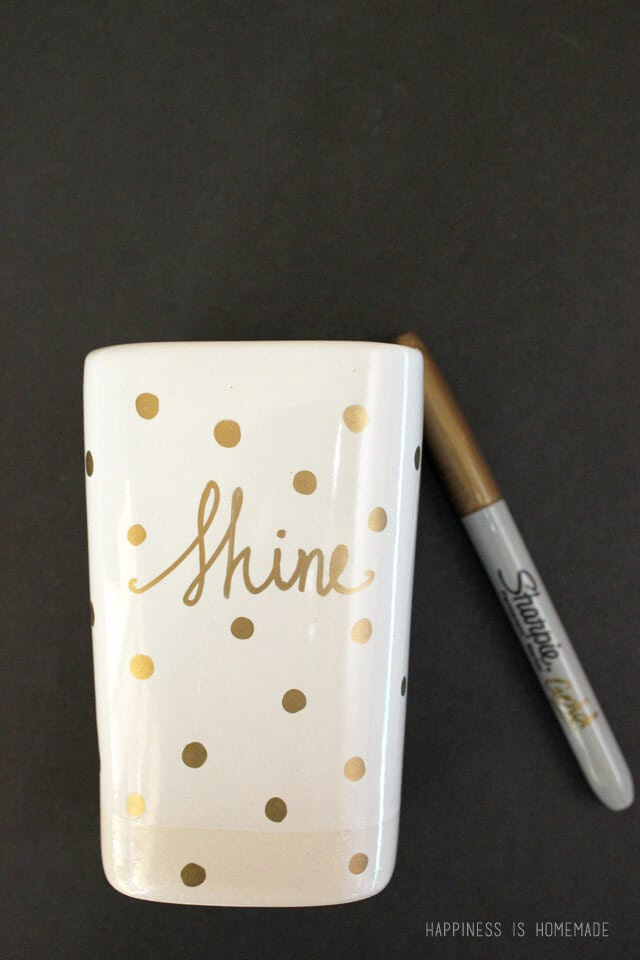 DIY Sharpie Candle