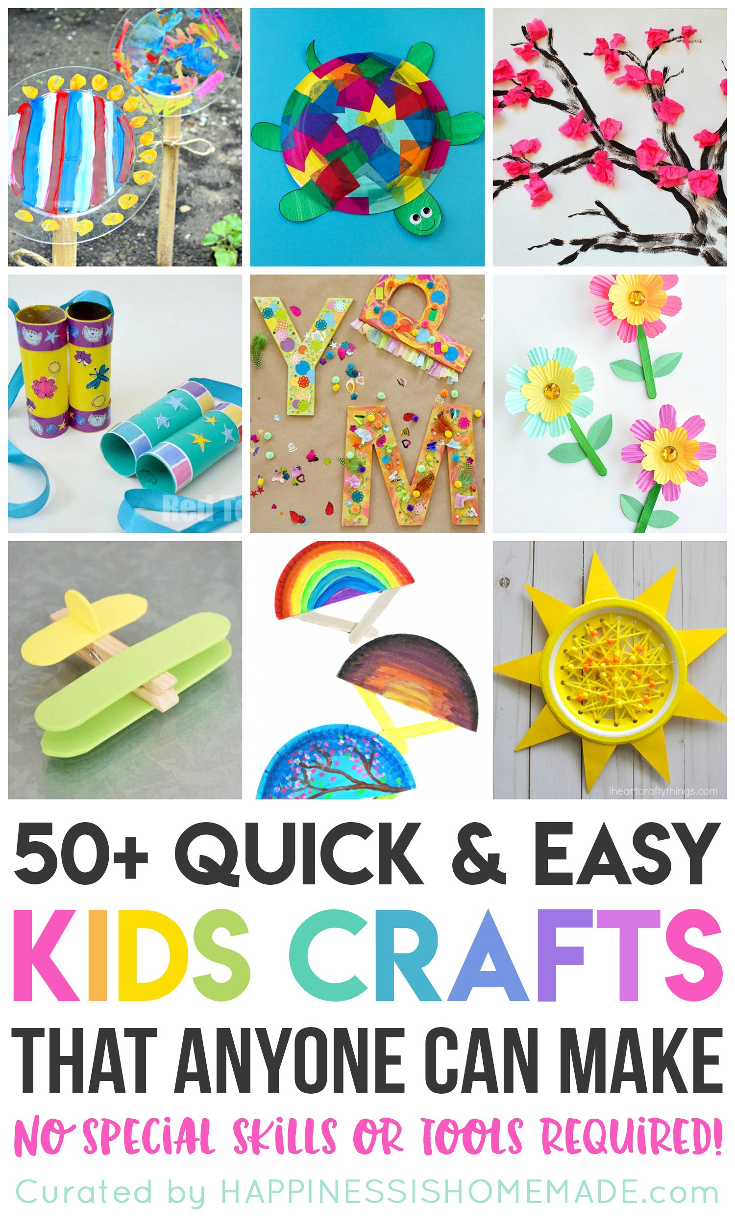 Fun Kids And Crafts Easy