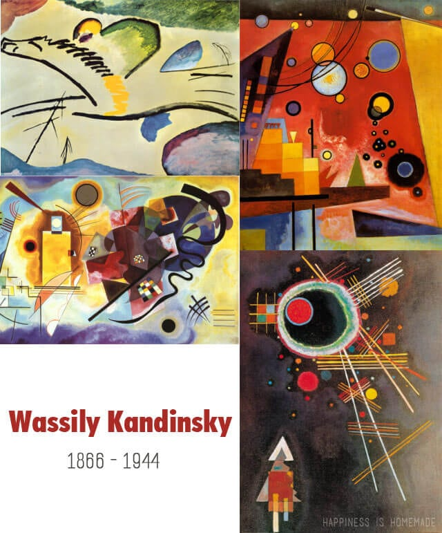 Kandinsky Artwork Collage