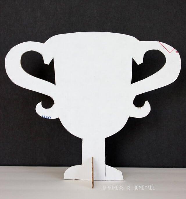 Cardboard Trophy