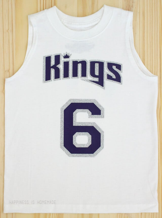 DIY Sacramento Kings Sports Team Basketball Shirt