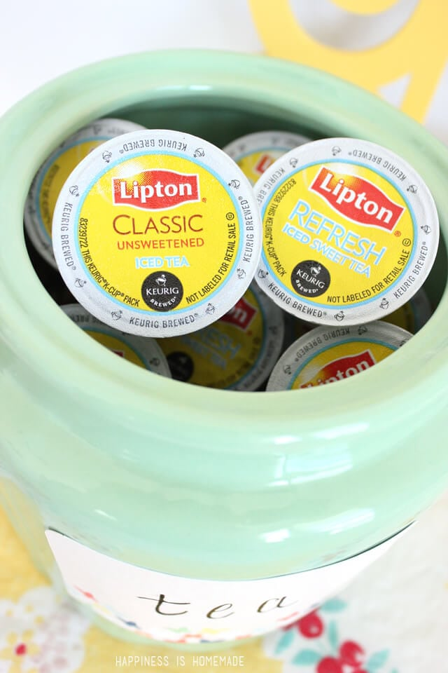 Now you can brew Lipton iced tea right from your Keurig machine