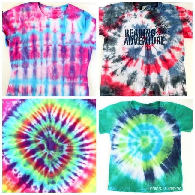 Tie Dyed Shirts