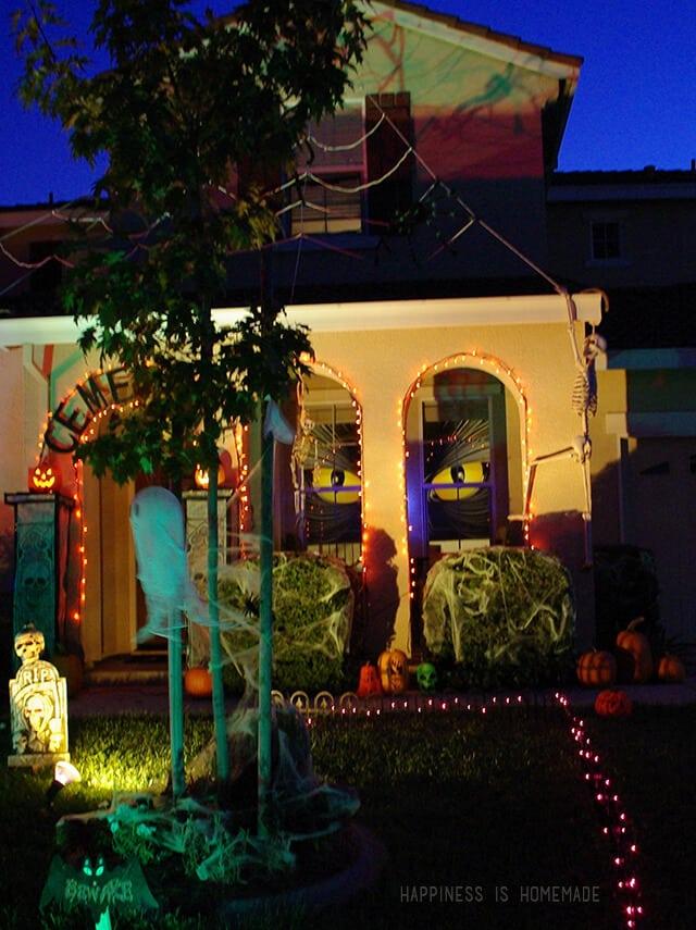 Halloween Window Eyes