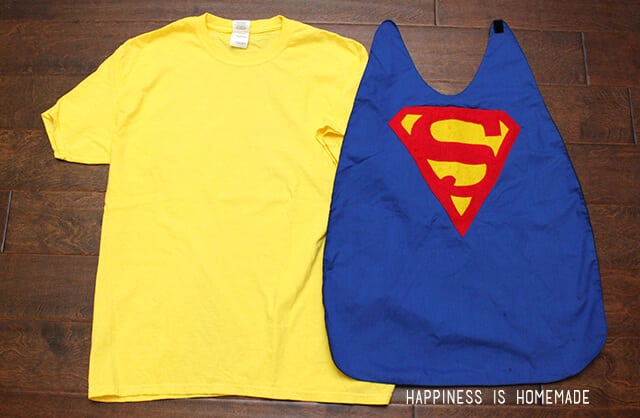 Make a Personalized Superhero Cape from an Old Shirt