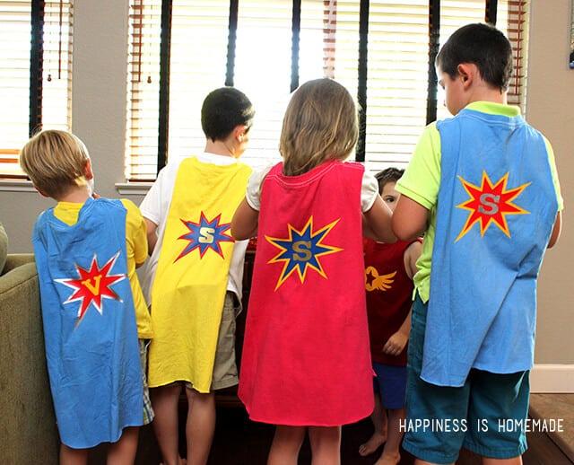 Superhero Party Capes
