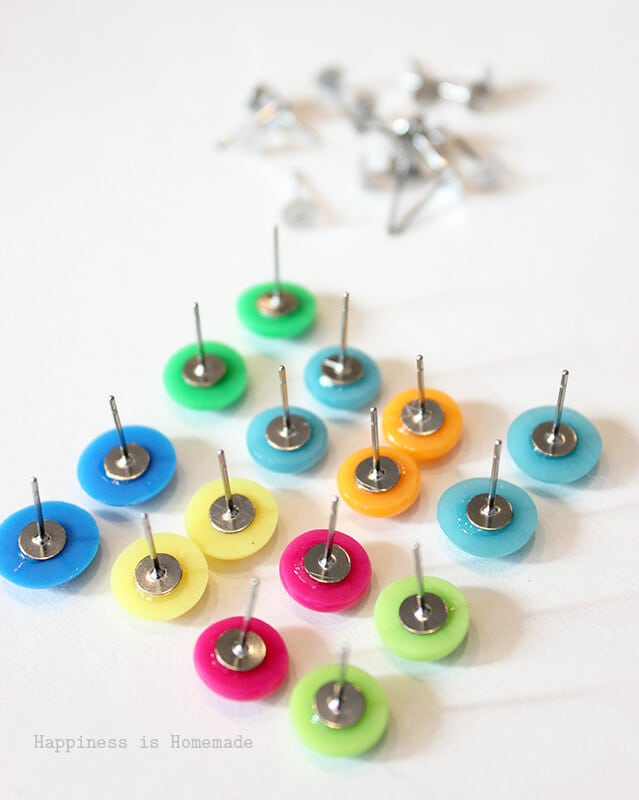 Making Candy Button Earrings is Fast Easy and Cheap