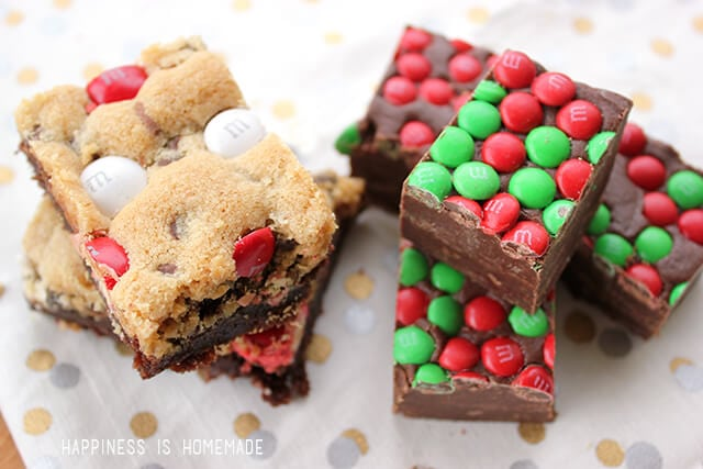 M&M's Holiday Baked Goods