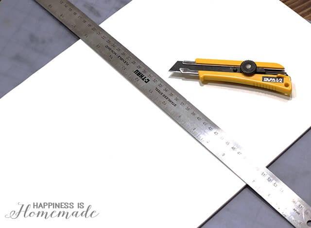 Cutting Foam Core for a DIY Headboard