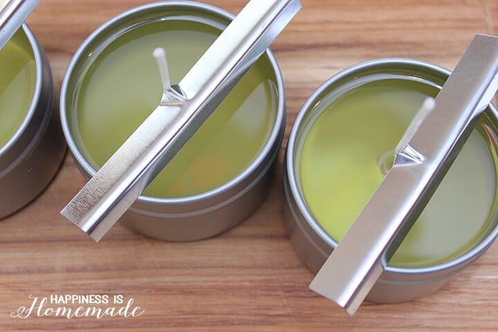 Making DIY Candles with Wick Holders