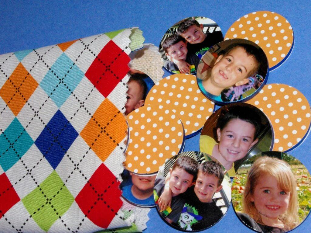 Family Photo Memory Match Game