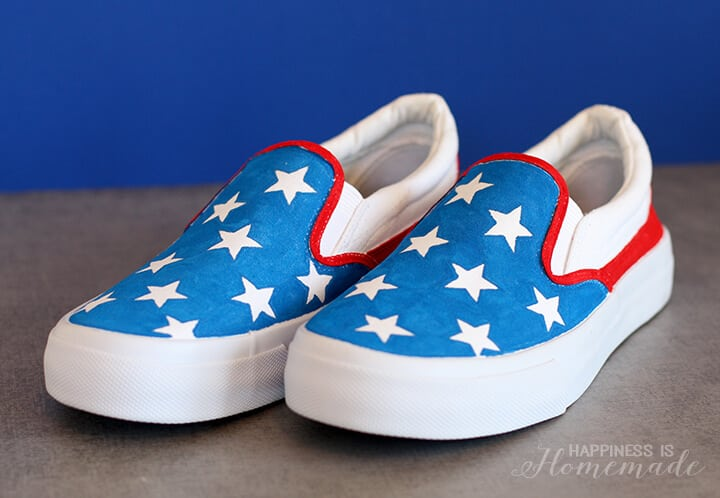 Star Spangled 4th of July Shoes