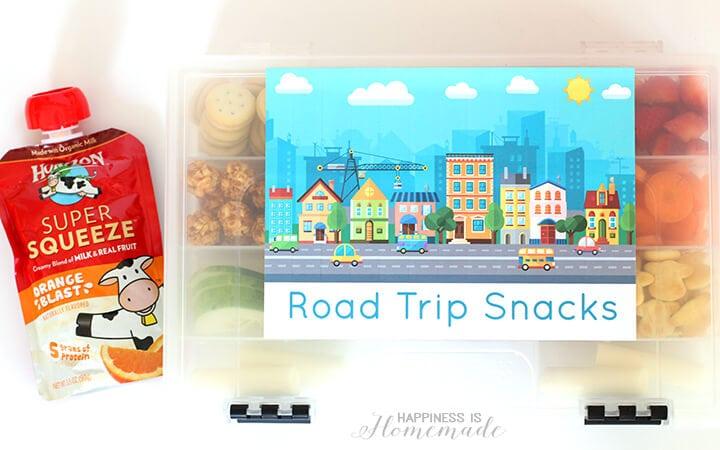 Horizon Organic Road Trip Snacks on the Go