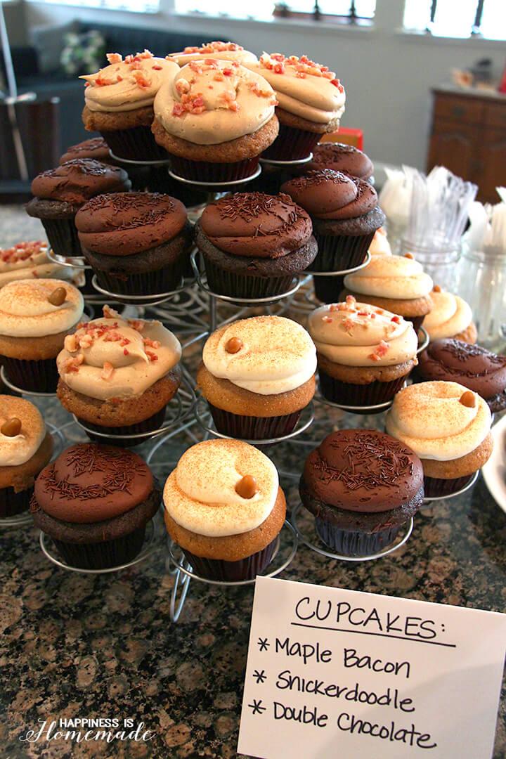Bacon Party Cupcakes