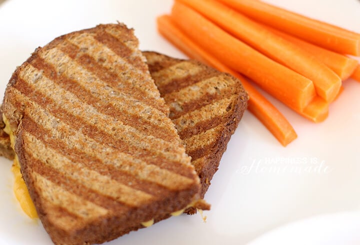 Kids Cook Organic Soup Grilled Cheese Lunch Happiness Is Homemade