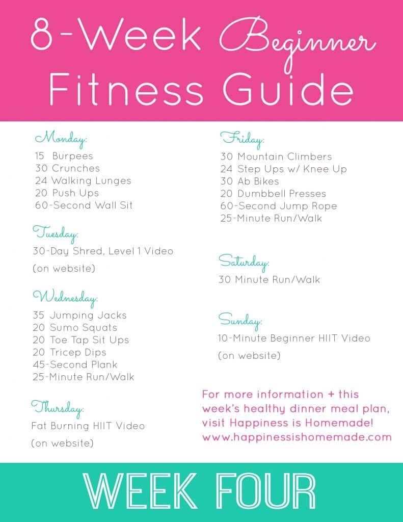 beginner fitness jumpstart week