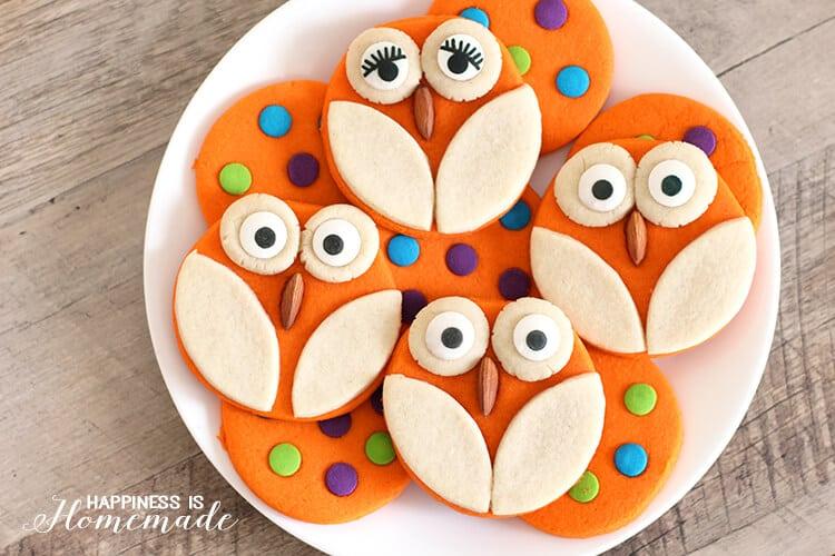 Cute and Easy Owl Cookies