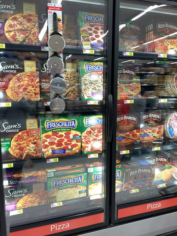 Freschetta Pizzas at Walmart