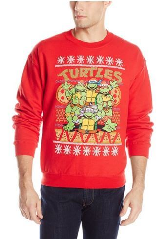 Christmas Ninja Turtles Sweater