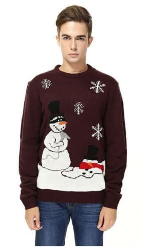 Melted Snowman Sweater