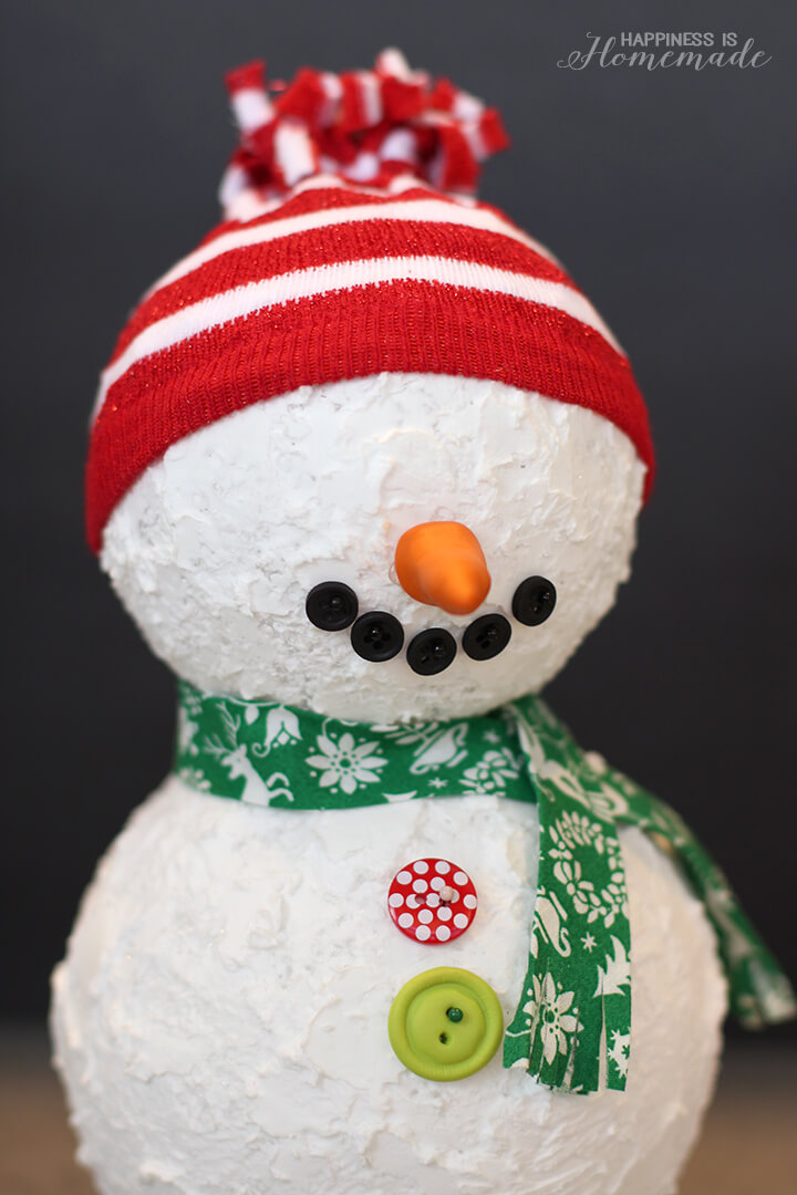 Christmas Decorations Using Polystyrene Balls