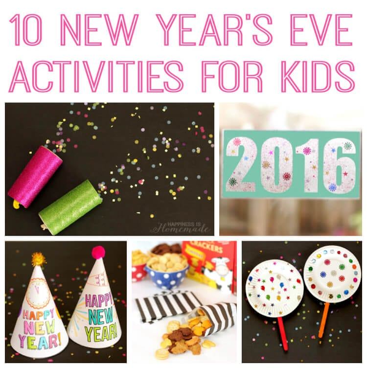 10 New Year's Eve Activities for Kids