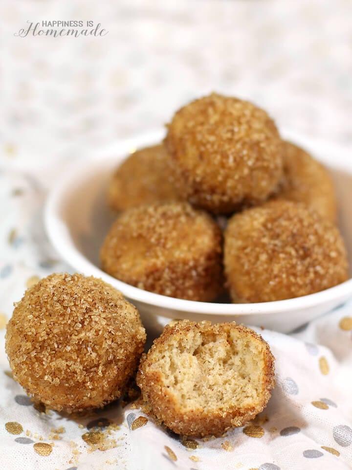 Cinnamon Sugar Donut Puffs