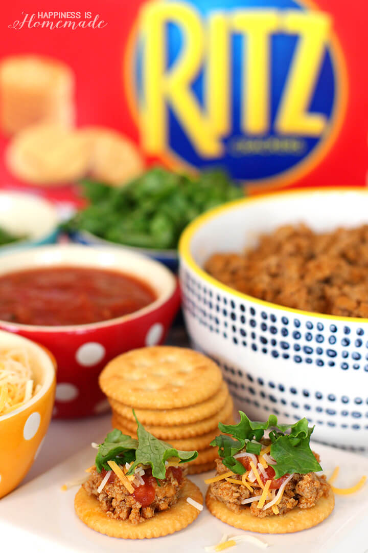 RITZ Crackers Taco Crisps Appetizer