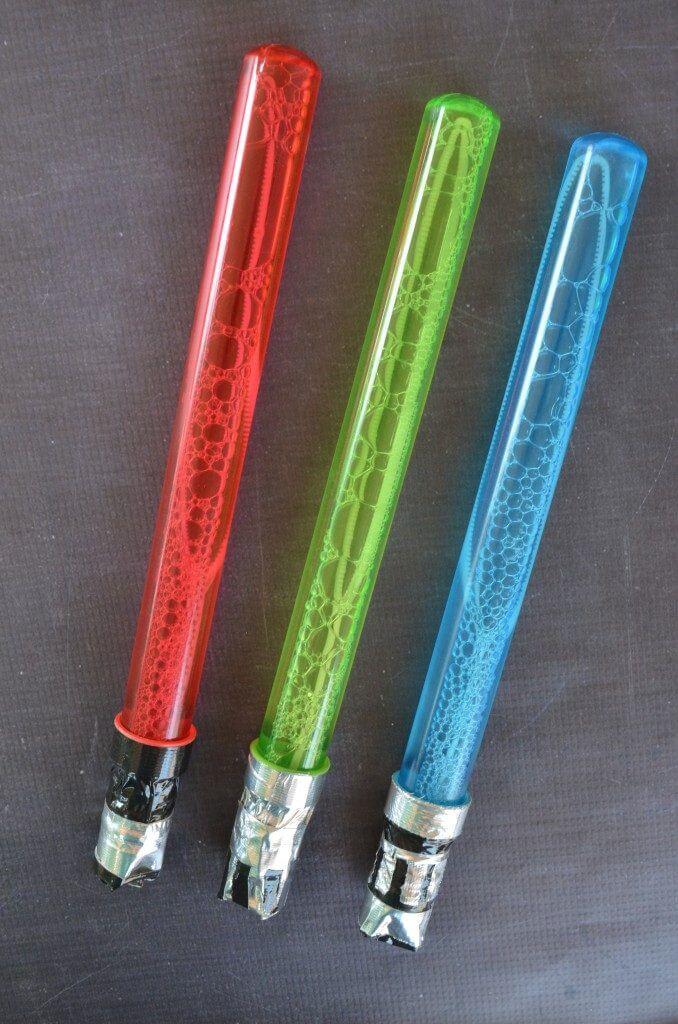 bubble-lightsabers