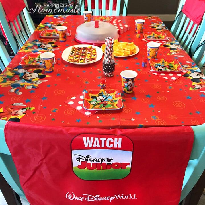 #DisneyKids Preschool Playdate Party Table