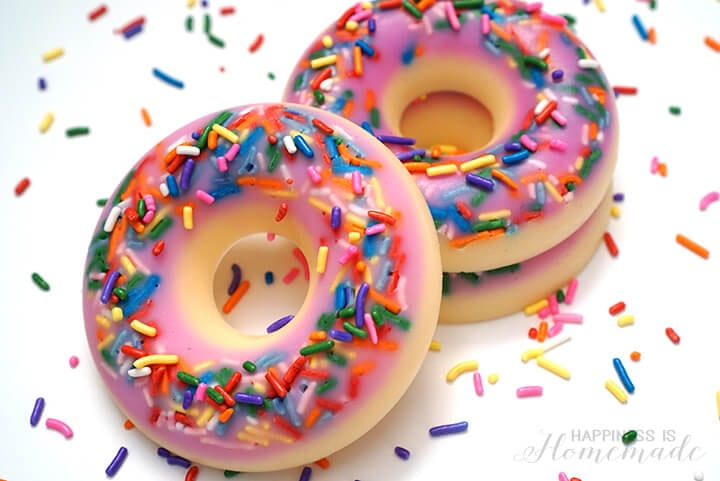 Make Your Own DIY Donut Shaped and Scented Soap