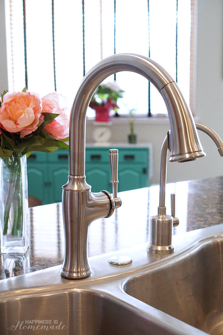 kohler kitchen faucet refinishing cabinets how to install a happiness is homemade sleek and chic cardale