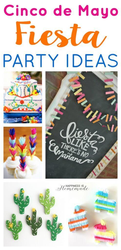 Cinco de Mayo Fiesta Party Ideas