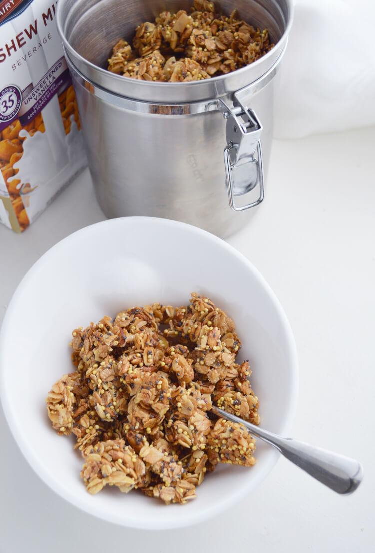 Easy naturally sweet granola (7)