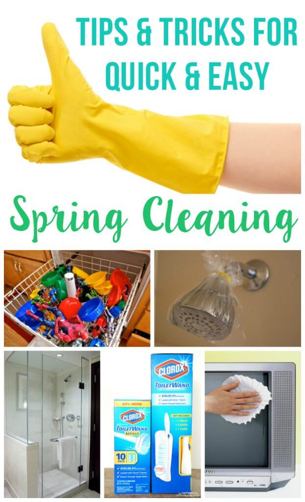 Tips and Tricks for Quick and Easy Spring Cleaning B